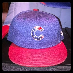 New Era Chicago Cubs Fitted Cap Size 7 1/2